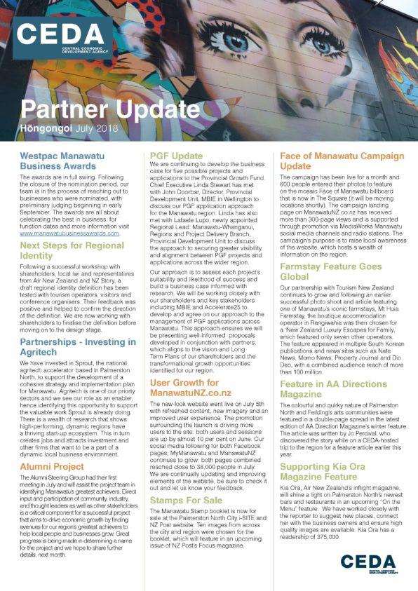 CEDA Partner Update July 201