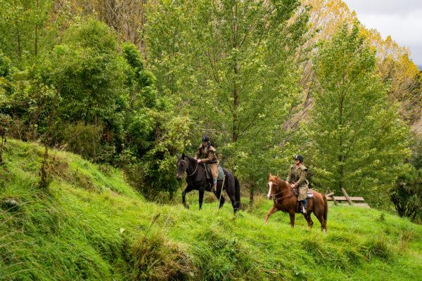 Horse Treks, Makoura Lodge