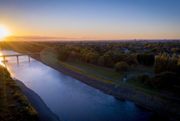 Palmerston North River Sunset