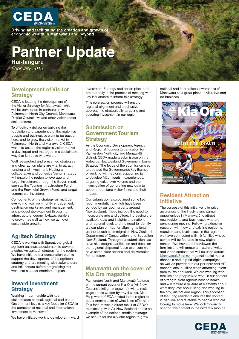 CEDA Partner Update February 2019