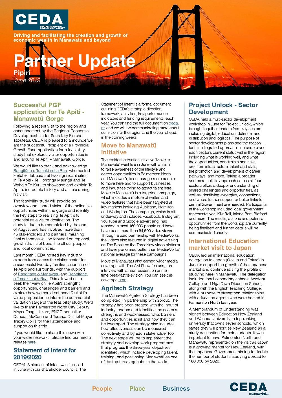 Partner Update June 2019