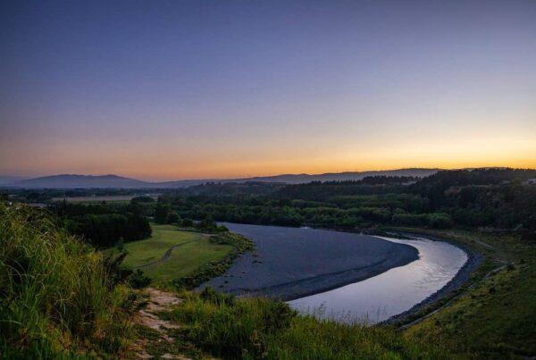 Manawatu River Sunset